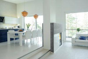 Sinivalkoinen keittiö