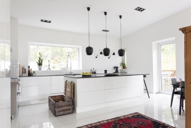 Modernit keittiökalusteet