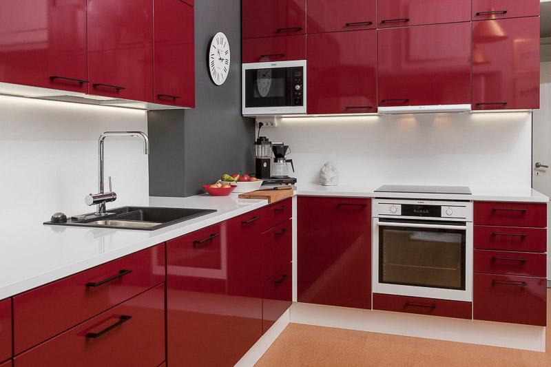 Punainen keittiö