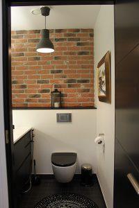 Mustavalkoinen wc